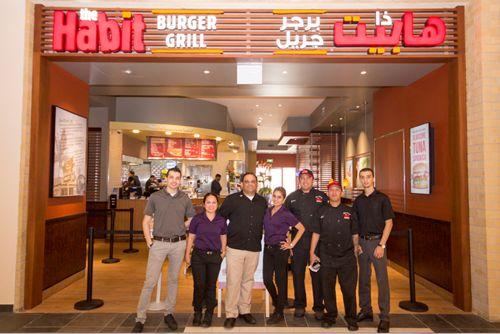 Habit Burger Grill Opens In Dubai, United Arab Emirates