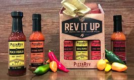 PizzaRev Lets Fans Bring Home the Heat with Hot Sauce Gift Pack