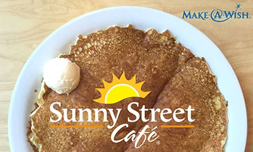 Sunny Street Café in Dublin Raises Money for Make-A-Wish Foundation