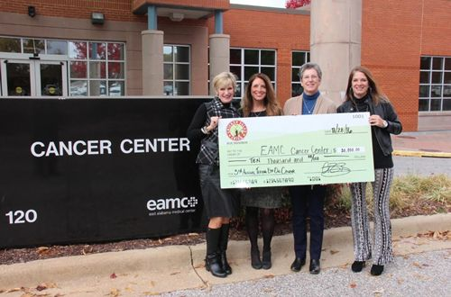 """Chicken Salad Chick Foundation Donates $20,000 to Local Cancer Centers Through """"Teeing off on Cancer"""" Golf Classic"""