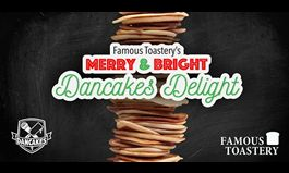 Famous Toastery and Dancakes Launch Holiday Character Pancake Art Campaign