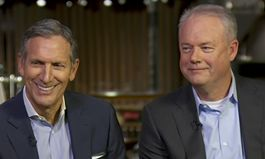 Howard Schultz and Kevin Johnson Reflect On Starbucks Future