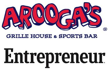 Arooga's Grille House & Sports Bar Recognized in Entrepreneur Magazine's Franchise 500 2017 Ranking