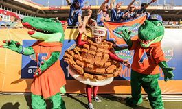 """Chomp, Chomp!"" The Florida Gators Score Free* Bloomin' Onion Appetizers For America On January 3"