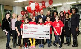 Johnny Rockets Donates $5,000 to the Education Alliance Boys & Girls Club in NYC to Support After-School Programming