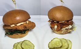 The ATL and New Englander Burger on the Menu at Zinburger Wine & Burger Bar for the Championship Game