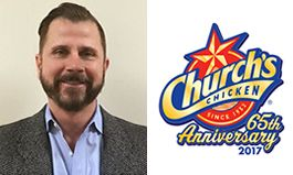 Church's Chicken Promotes Chris Ward to Vice President of Supply Chain