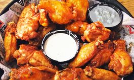 "In Honor of the Big Game This Weekend, Hurricane Grill & Wings Asks Football Fans the Age-Old Question: ""What's the Best Dip for Your Chicken Wings? Ranch or Bleu Cheese"""