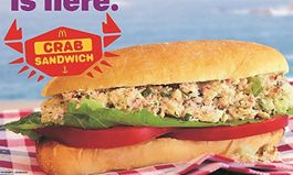 McDonald's of the Greater Bay Area Testing New Crab Sandwich