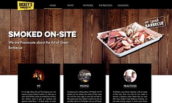 Dickey's Barbecue Pit Launches New Website