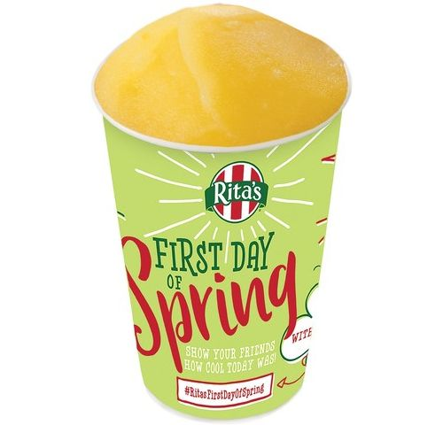 Spring is in the Air: Rita's Italian Ice Celebrates with its 25th Annual Free Italian Ice Giveaway and the Return of PEEPS Italian Ice