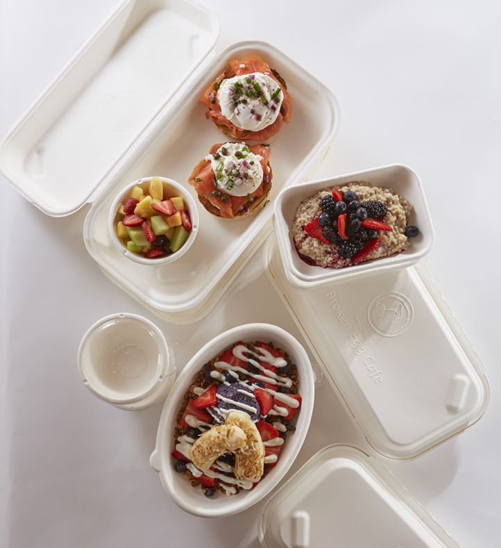 Another Broken Egg Cafe Teams with Eco-Products to Create Innovative New Containers that are Good for Customers, Good for the Environment