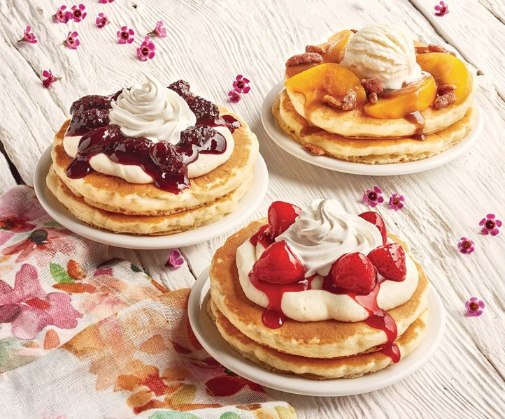 ... Pancakes to Create a Trio of Delicious, Freshly Made Spring Dishes