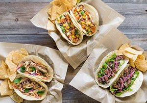 Sharky's Woodfired Mexican Grill Celebrates Old Traditions and New Flavors with Three New Tacos During Fiesta de Mayo