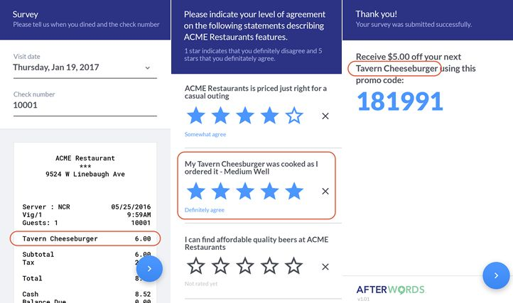 AfterWords Partners with Custom Business Solutions to Officially Debut New Customer Engagement Software at National Restaurant Association Show