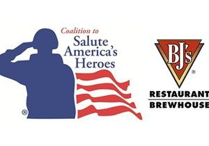 BJ's Restaurant & Brewhouse To Raise Funds For Wounded Veterans