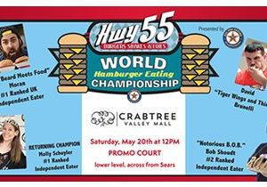 Hwy 55 Burgers, Shakes & Fries and All Pro Eating to Host the World Hamburger Eating Championship