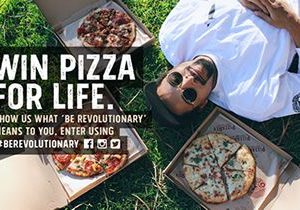 PizzaRev Launches 'Be Revolutionary' Campaign, Will Award Free Pizza for Life