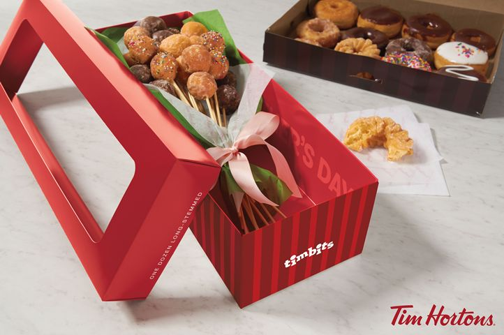 "Tim Hortons Restaurants Makes Mother's Day a ""Timbit"" Sweeter"