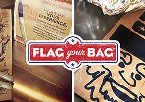 Which Wich Superior Sandwiches Launches 8th Annual Flag Your Bag Campaign to Support Active Military and Veterans