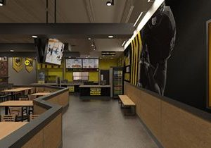 Buffalo Wild Wings Pilots B-Dubs Express