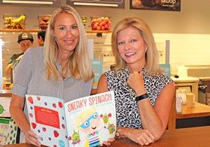 """Nékter Juice Bar Donates $5,000 from Sales of """"Sneaky Spinach"""" Children's Book to Festival of Children Foundation"""