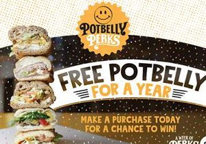 Potbelly Sandwich Shop Kicks Off National Sandwich Month With Opportunity to Win Potbelly for a Year