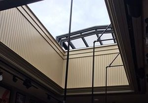 Roll-A-Cover's State-of-the-art Retractable Skylight Debuts at Certified Meatball Company