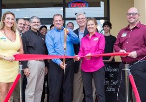 Stuart Extends Warm Welcome to New Jon Smith Subs Restaurant