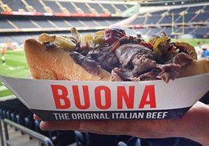 Buona, Chicago's Original Italian Beef, Comes To Soldier Field