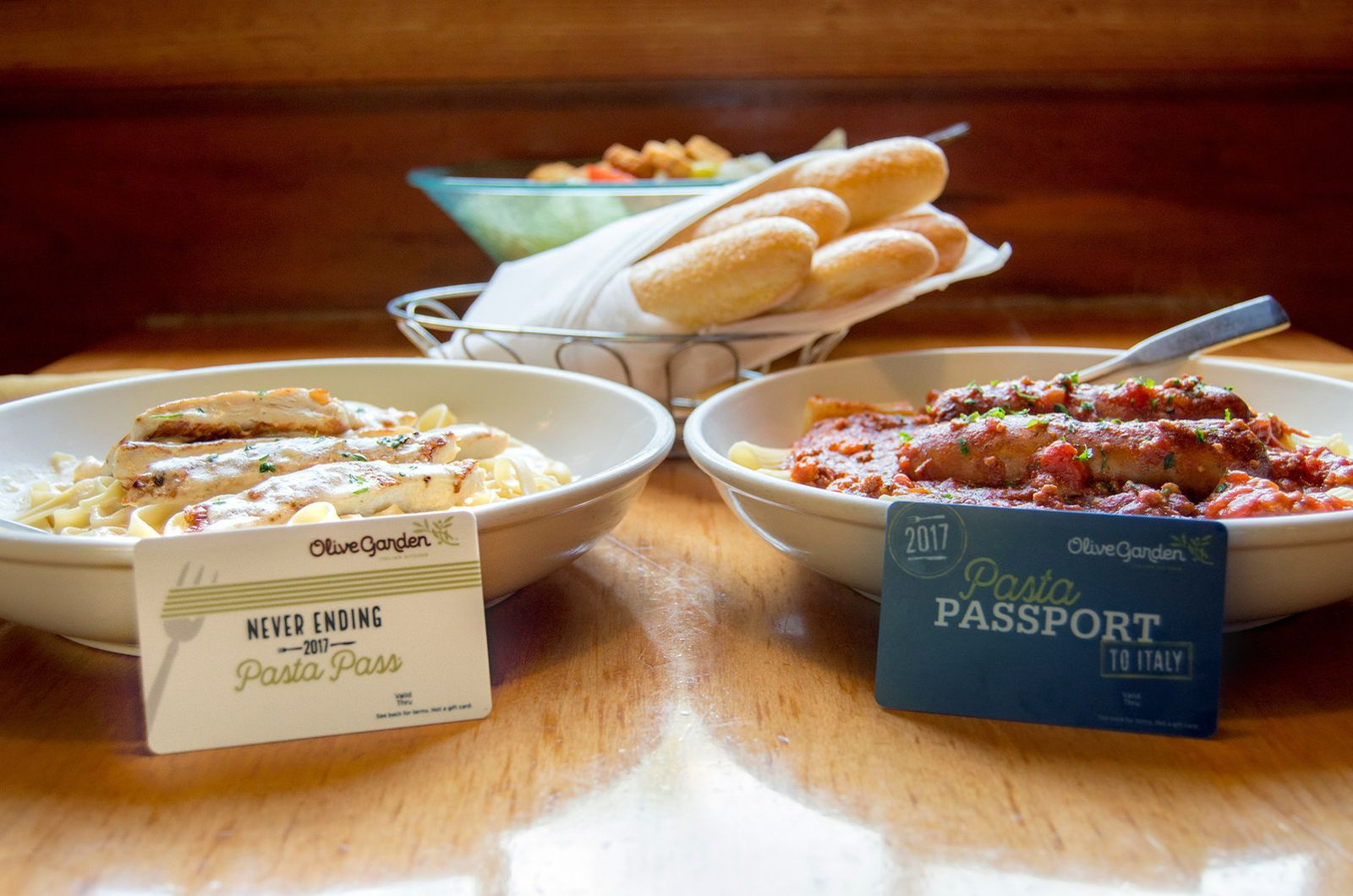 Olive Garden Introduces $200 \'Pasta Passport to Italy\' to Celebrate ...
