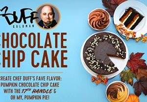 16 Handles Partners with Chef Duff Goldman for New Frozen Yogurt Flavor – Duff's Chocolate Chip Cake!