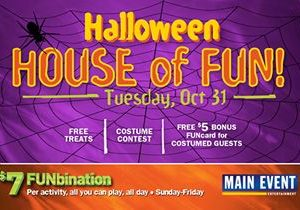 Main Event Turns Into The House Of Fun For Halloween