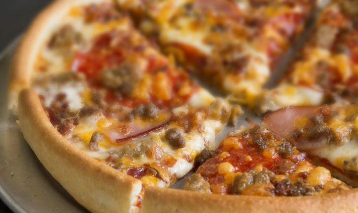 There's a Party At The First Pie Five Pizza In Tyler