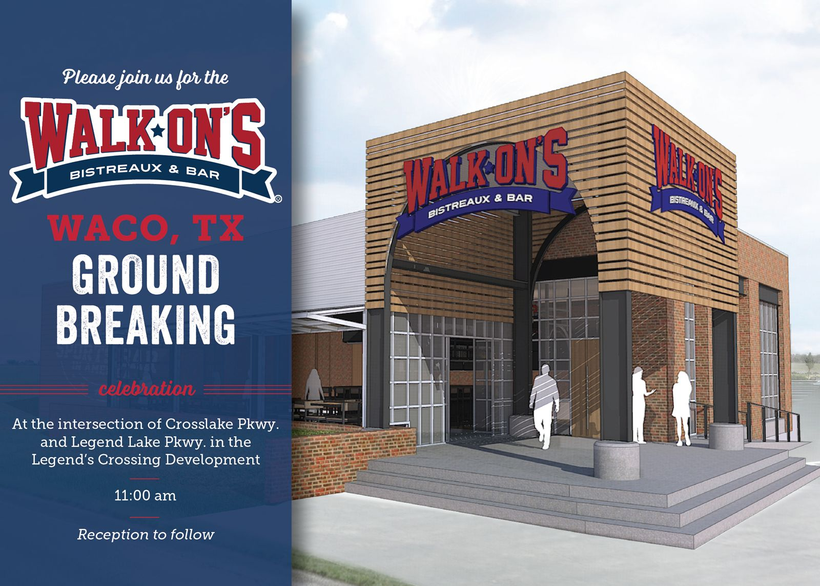Walk On S To Break Ground On 1st Waco Restaurant Restaurantnews Com