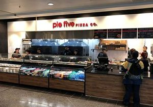Pie Five's Newest Airport Location Sets Sales Records