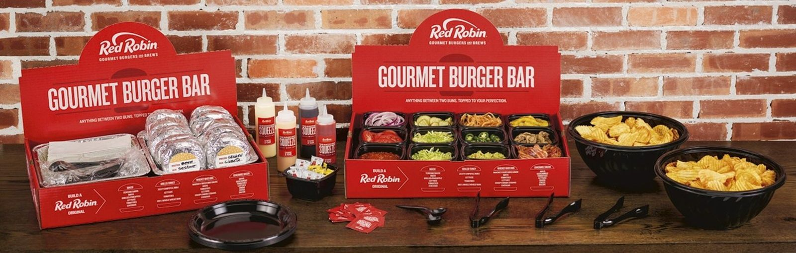 Red Robin Gourmet Burgers and Brews Celebrates Friendsgiving with Special Gourmet Turkey Burger Bar Promotion