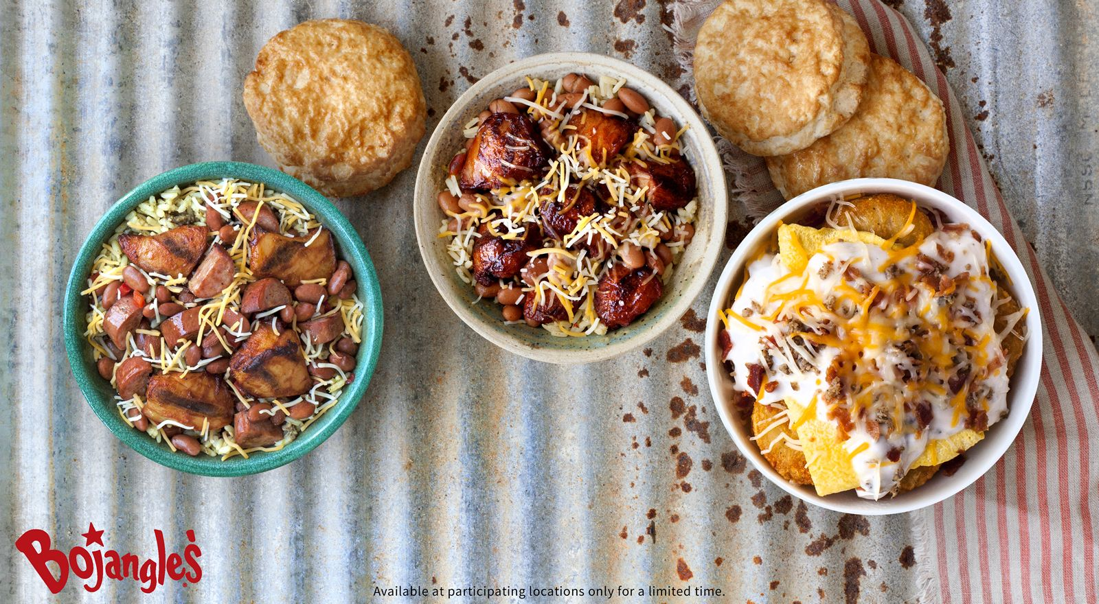 Running On Empty? Fill up with a Hearty Bojangles' Bowl