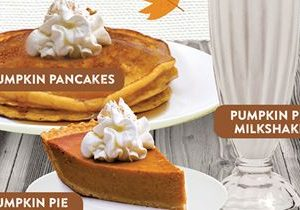 Shoney's Continues 70th Anniversary with Fall Fest Featuring Pumpkin Infusion