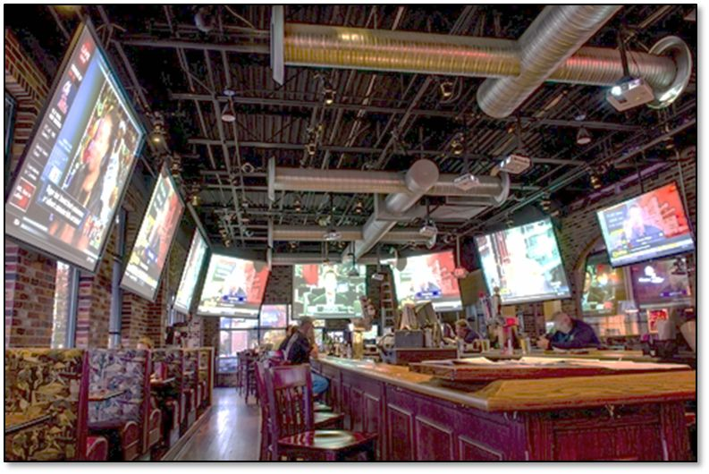 Waitbusters' Digital Diner Arrives in a Family Friendly Sports-Themed Bar and Restaurant Outside of D.C.