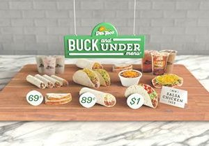 Del Taco Continues to Lead Value With Relaunch of Buck and Under Menu