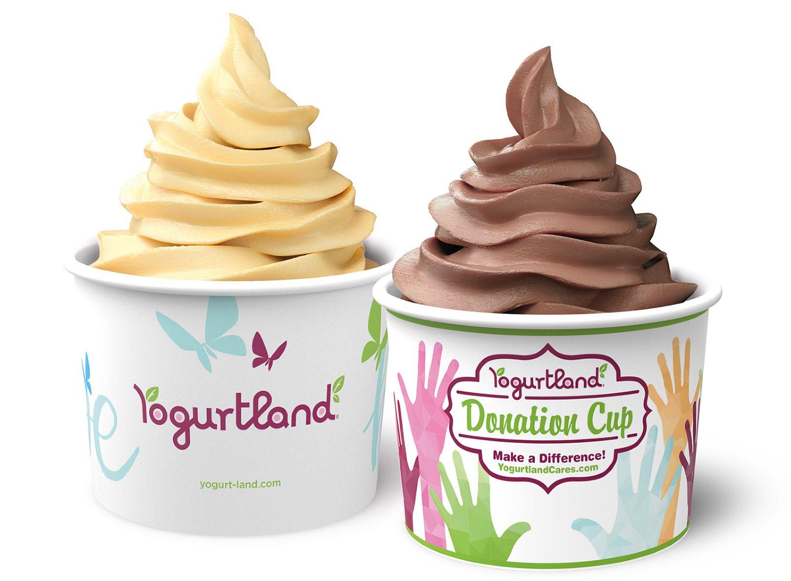 Yogurtland's 'Hope' Donation Cup Raises More Than $81,000 Supporting Yogurtland Cares Charities