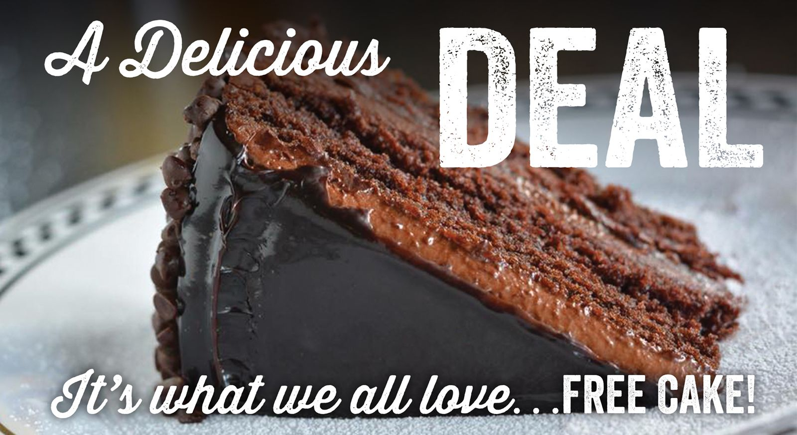 Anthony's Coal Fired Pizza and Door Dash are Giving Away Decadent Chocolate Cake