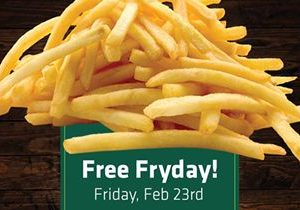"""Jon Smith Subs Offers Free French Fries on """"Fry Day"""""""