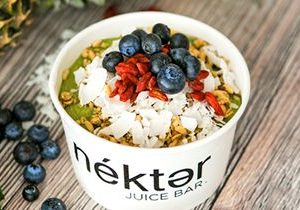 Nékter Juice Bar's New Graviola Superfood Bowl is the Perfect Fusion of Tropical Flavor and Powerful Health Benefits