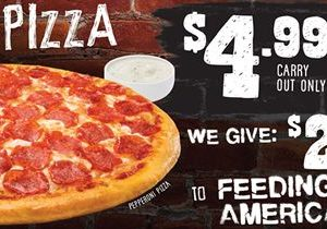 """Toppers Pizza Aims to Provide 150,000 Meals Through Brand-wide, One-Day """"Hunger-Relief"""" Event"""