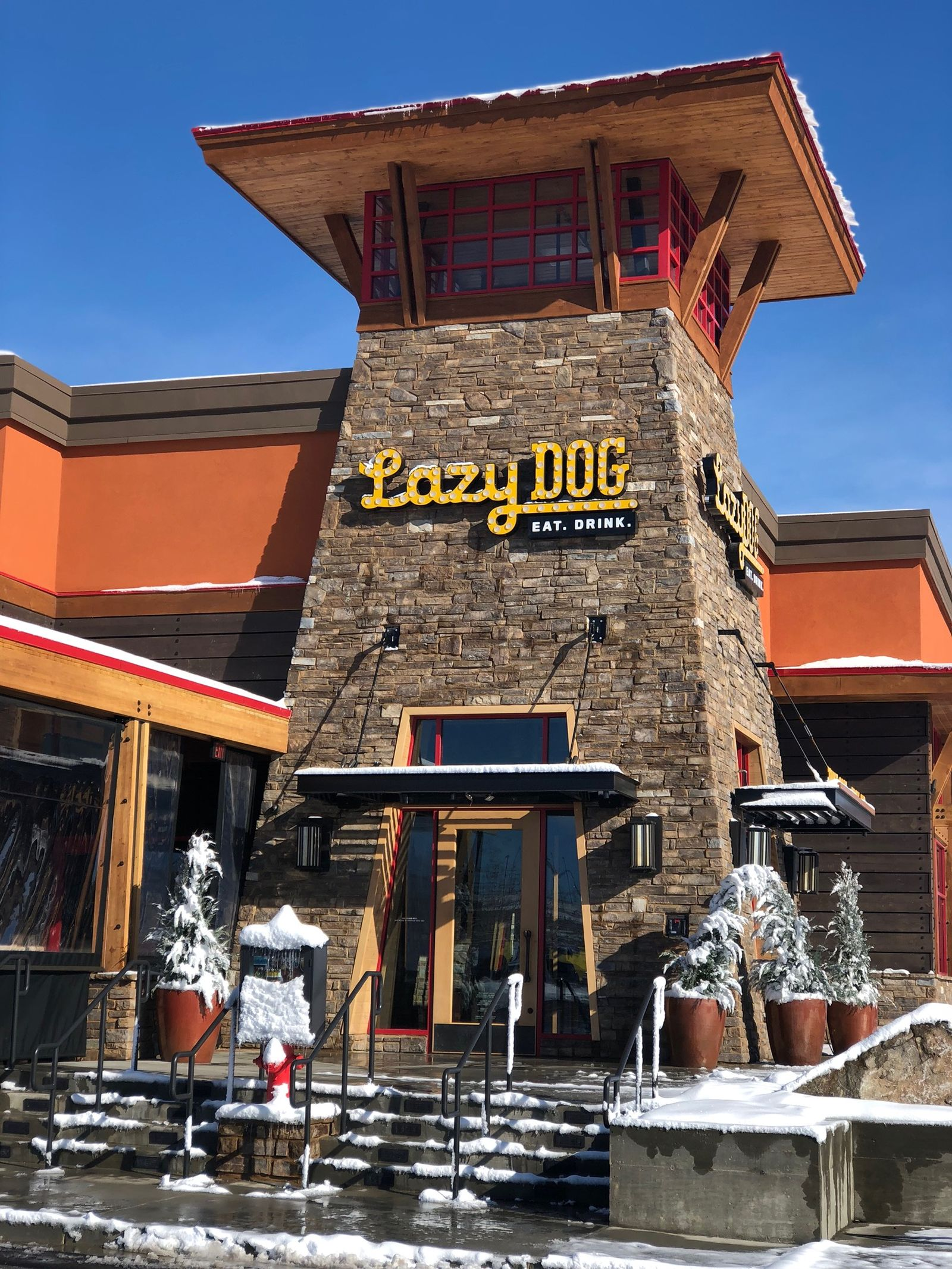Lazy Dog Restaurant Bar Welcomes Location At Southlands Mall In Aurora Colorado
