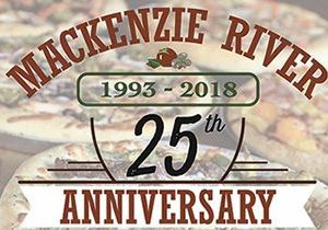 MacKenzie River Pizza Plans Month Long Celebration in April