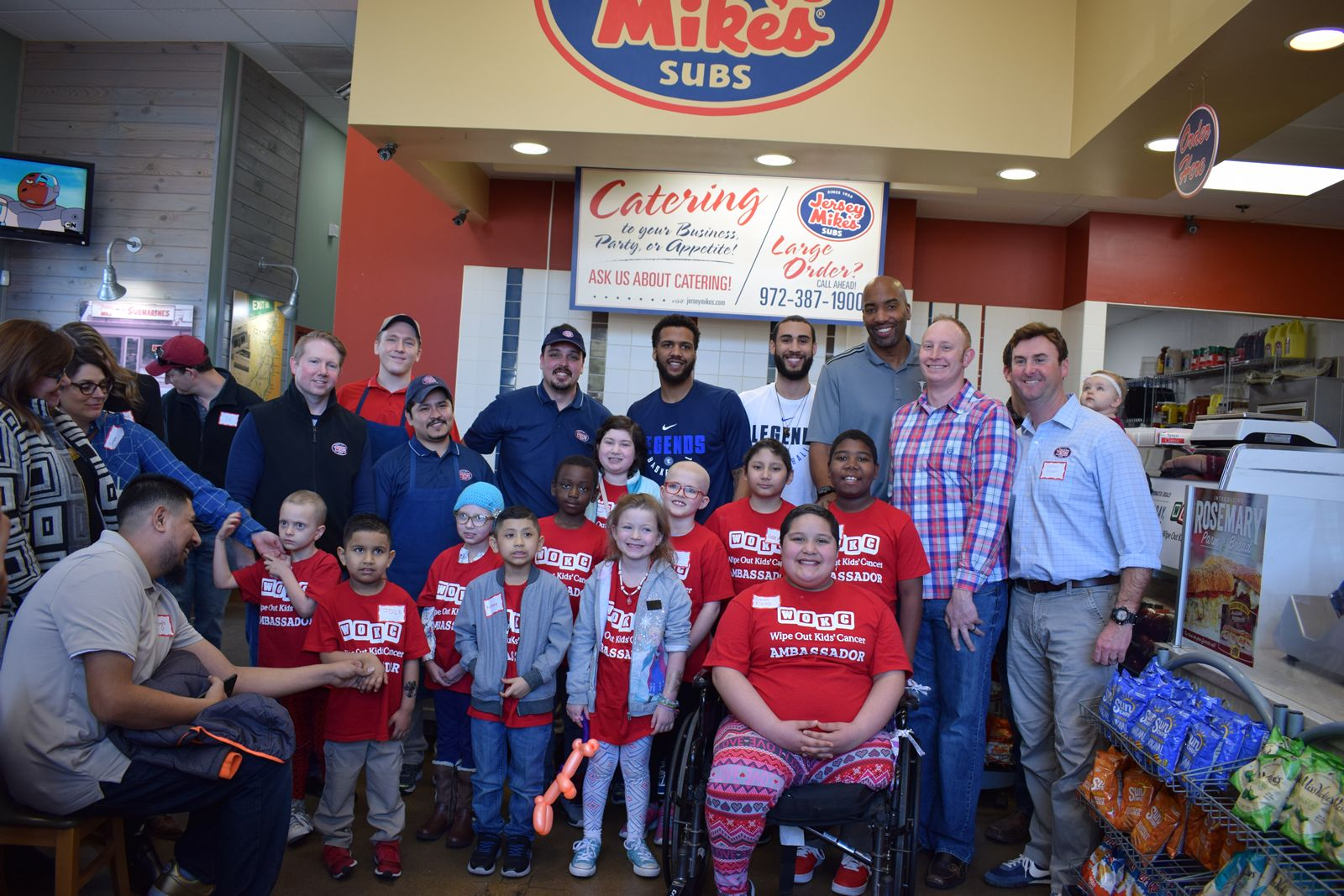 On Wednesday, March 28: Jersey Mike's Donates 100 Percent of Sales to Local Charities