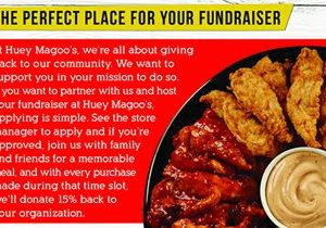 "Huey Magoo's Chicken Tenders Gives Back With The Launch Of Their Exciting Company-Wide Community Fundraising Program ""Spirit Nights"""